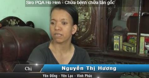 Chị Hương bị Tràn dịch màng phổi