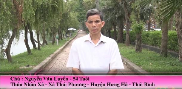 Ho Hen PQA - Chú Luyến - Thái Bình, bị Hen 30 năm chia sẻ