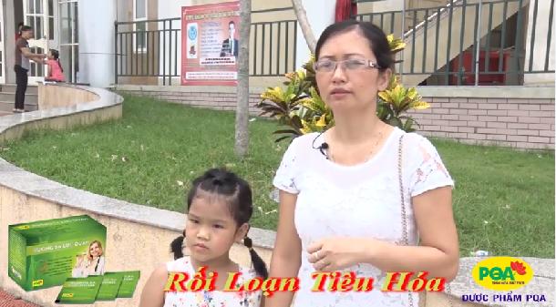Bé Vân - 6 tuổi, bị rối loạn tiêu hóa, đi ngoài 6-7 lần