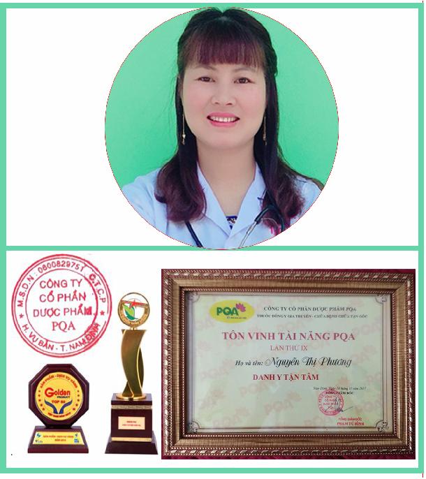 Lương y, Dược sỹ Nguyễn Thu Phương